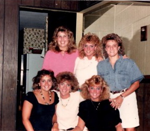 Stacey Gustafson with high school friends19377_1270218809468_1613492_n
