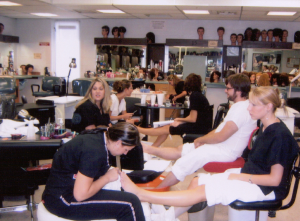 Bright Lights, Insults, Gel Manicures At Nail Salon