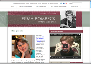 I'm Featured on Erma Bombeck Writers' Workshop