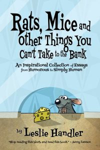 """Rats, Mice, and Other Things"" Guest Post by Leslie Handler"