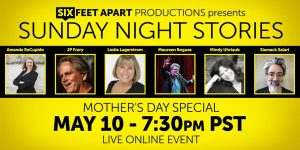 "Authors Tell Stories by Six Feet Productions ""Sunday Night Stories"" Stacey Gustafson"