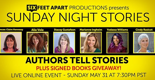 Authors Tell Stories by Six Feet Apart Productions Stacey Gustafson