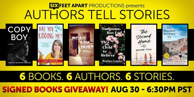 Authors Tell Stories and Book Giveaways Stacey Gustafson
